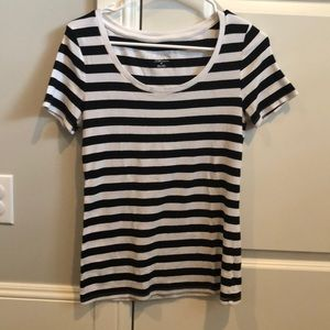 Short sleeve stripped shirt from Target